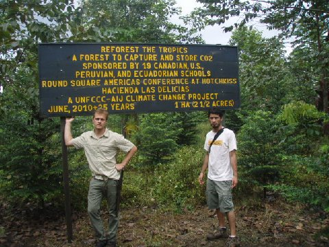 Max Tattenbach visits the forest in July 2012