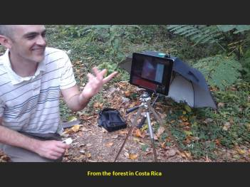 Using technology from the forest